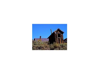 Photo Small Bodie Outhouse Travel