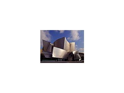 Photo Small Walt Disney Concert Hall Travel