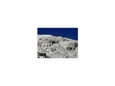 Photo Small Mammoth Hot Springs 2 Travel