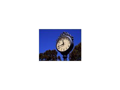 Photo Small Big Clock Travel