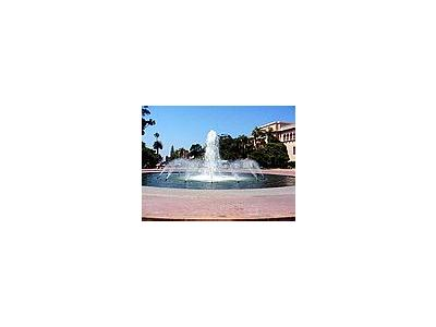 Photo Small Fountain In Balboa Park Travel