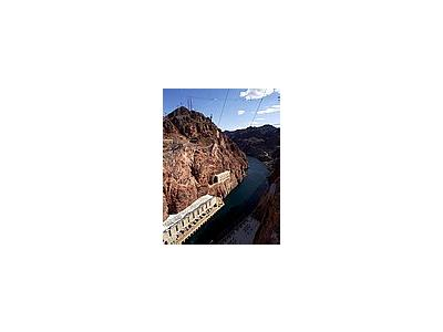 Photo Small Hoover Dam Spillway Travel