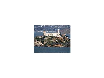 Photo Small Alcatraz Island Prison Travel