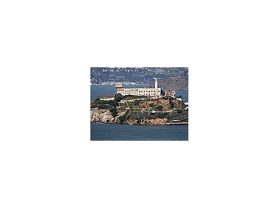 Photo Small Alcatraz Island Prison Travel