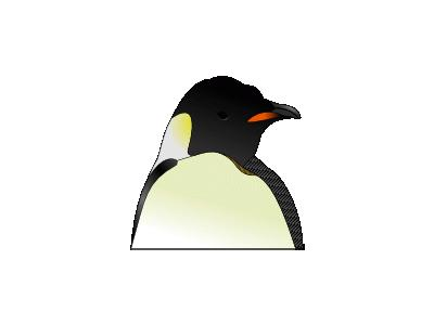 Tux Head Fco. Andrade 01 Animal