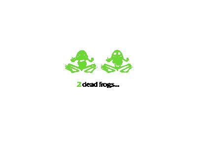 2 Dead Frogs Lumen Desig 01 Animal