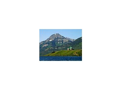 Photo Small Waterton Lakes Prince Of Wales Hotel Travel