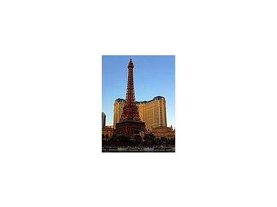 Photo Small The Eiffel Tower In Vegas Travel