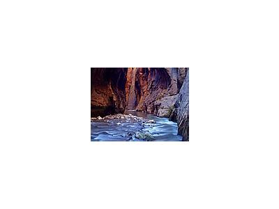 Photo Small Zion Narrows 7 Travel