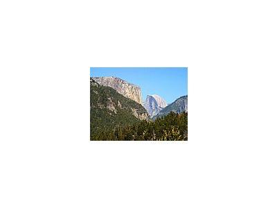 Photo Small Half Dome Yosemite Travel