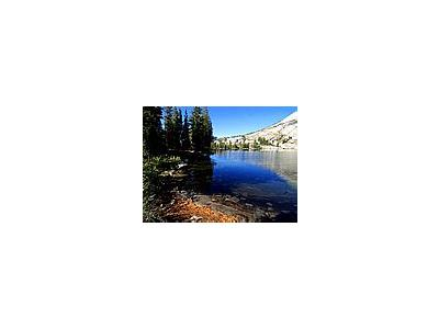 Photo Small May Lake In Yosemite Travel