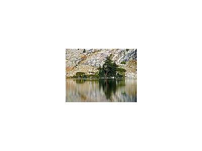 Photo Small May Lake Reflections Travel