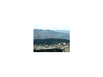Photo Small Golden Gate Bridge Travel