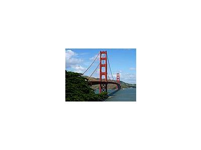 Photo Small Golden Gate Bridge In San Francisco Travel