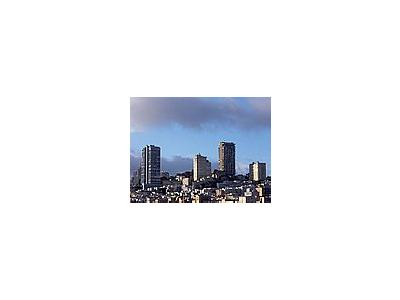 Photo Small San Francisco Skyline Travel