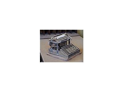 Photo Small Bodie Typewriter Travel