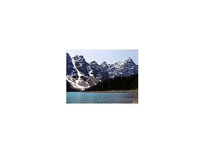 Photo Small Moraine Lake In Banff Travel
