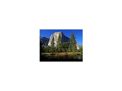 Photo Small El Capitan And Merced River Travel