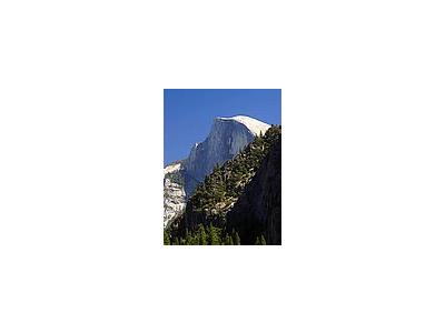 Photo Small Half Dome In Yosemite Travel