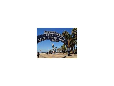 Photo Small Santa Monica Pier Travel