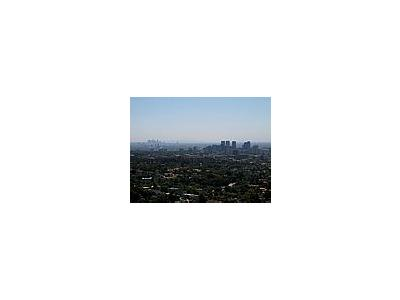 Photo Small Smoggy La Skyline Travel