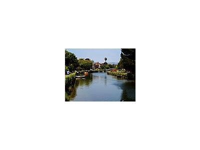 Photo Small Venice Beach Canals Travel