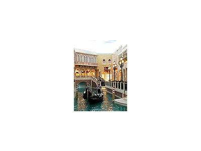 Photo Small Venetian Casino Canals Travel