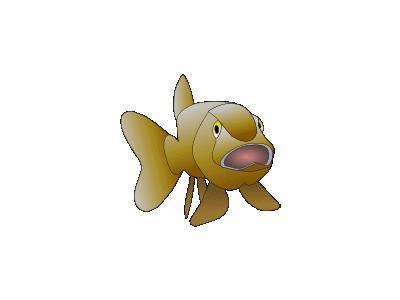 Brown Fish 01 Animal