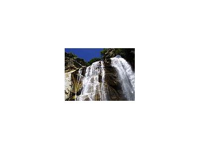 Photo Small Waterfall Travel