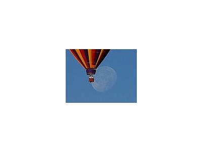 Photo Small Ballon And Moon Vehicle