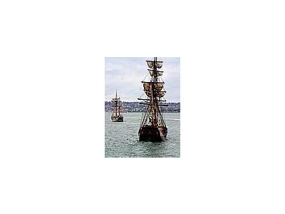 Photo Small Tall Ships Vehicle