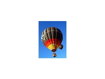 Photo Small Hot Air Balloons Vehicle