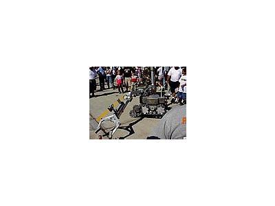 Photo Small Robot Vehicle