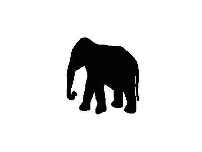 Contour Elephant Animal