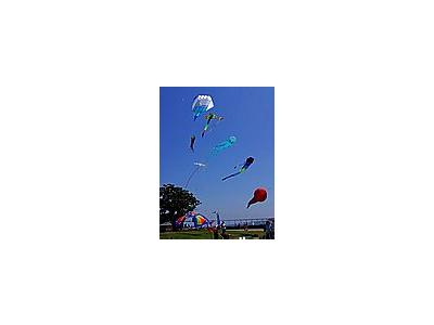 Photo Small Kites Flying Other