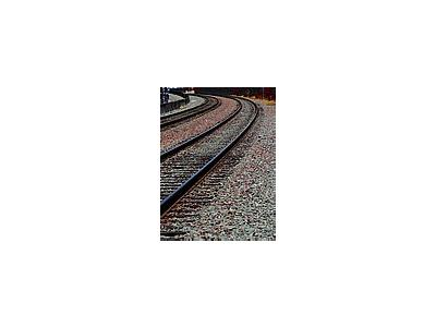 Photo Small Railroad Tracks Other