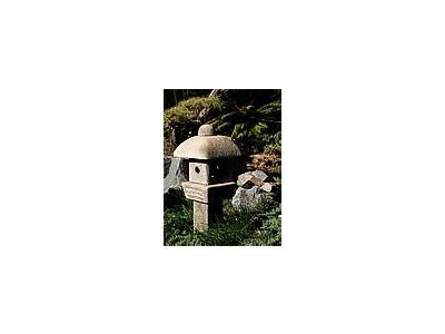 Photo Small Stone Lantern Other