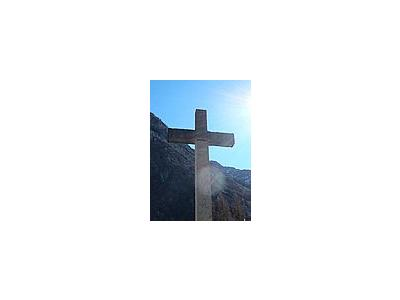 Photo Small Concrete Cross 2 Other