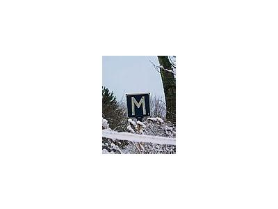 Photo Small Meeting Sign In Winter Other