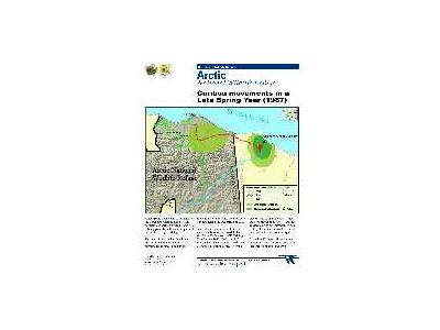 Information Map Caribou Calving And Summer Use In High Snow Spring 00023 Photo Small Wildlife