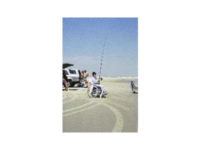 WO 5447 Surf Fishing Outer Banks North Carolina 00099 Photo Small Wildlife