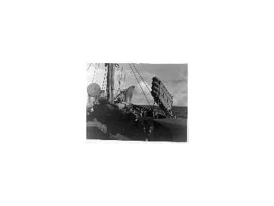 Balsa Raft On Cargo Ship During WW II 00172 Photo Small Wildlife