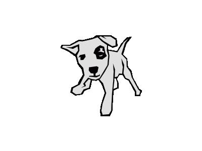 Dog 03 Drawn With Strai 01 Animal