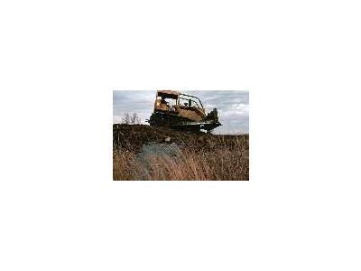 5007 E Wetland Restoration Bulldozer 00309 Photo Small Wildlife