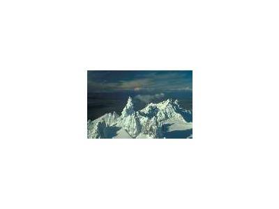 Aghileen Pinnacles L Frosty Roundtop Isanotski & Shishaldin In Background 00585 Photo Small Wildlife