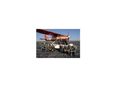 WOE134 Waterfowl Survey Biologists Pilots 00685 Photo Small Wildlife