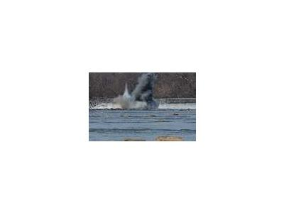 WOE90 Embrey Dam First Explosion Fredericksburg Va 00747 Photo Small Wildlife