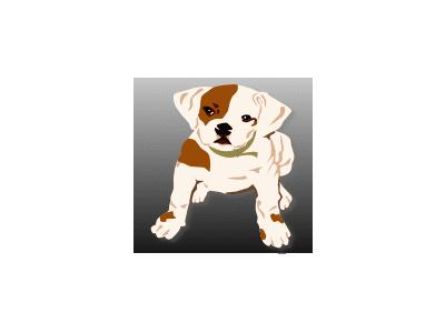 Bulldog Puppy Ganson Animal