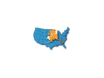 Alaska Map Overlays A Continental US Map 00937 Photo Small Wildlife