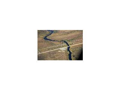 Kanuti River And Dalton Highway River Crossing 00949 Photo Small Wildlife
